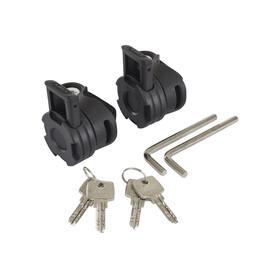 ABUS Phantom 8960/85 Twinset TexFL Kabelschloss schwarz